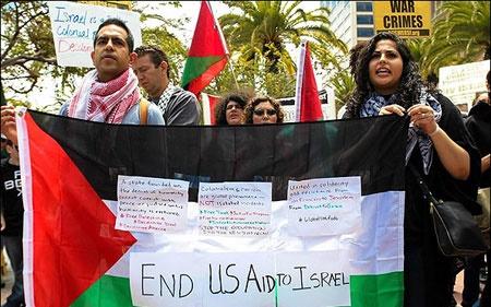 حمایت مردم جهان از غزه