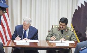 قطر از آمریکا سپر موشکی و بالگرد جنگی میخرد