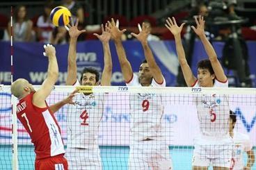 لیگ جهانی والیبال؛ ایران و روسیه؛ شکست عجیب در ست پنجم