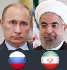رؤسای جمهوری ایران و روسیه بر توقف اقدامات نظامی در نوار غزه تأکید کردند