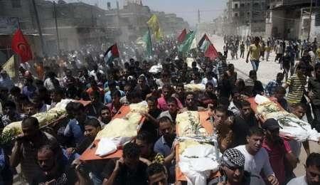 ۲۸ تیر؛ شهدای غزه: ۳۳۷ نفر / زخمیها ۲۳۸۰ نفر