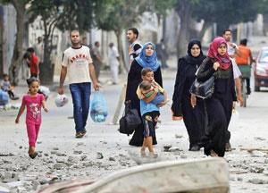 ۳۵۰ شهید در حملات زمینی و هوایی به غزه