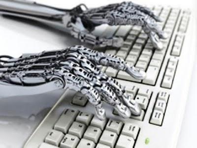رباتهای خبرنگار آمدند
