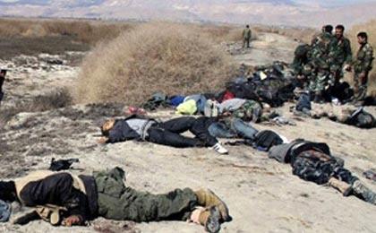 هلاکت ۵۰ تروریست داعشی در استان الانبار عراق