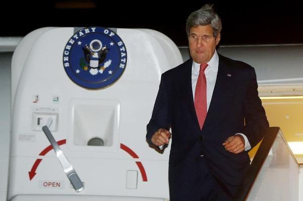 وعده وزیر خارجه آمریکا در قاهره برای کمک به مردم غزه