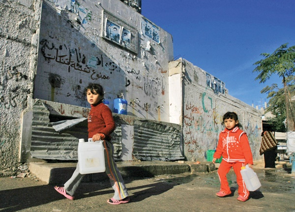 بحران آب در غزه