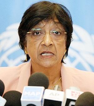 ناوی پیلای کمیسیونر حقوق بشر سازمان ملل متحد