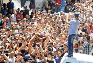 روز خشم فلسطینیان