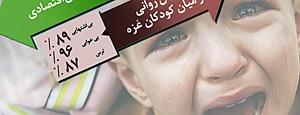 گرافیک خبری ۱۷ روز تجاوز به غزه