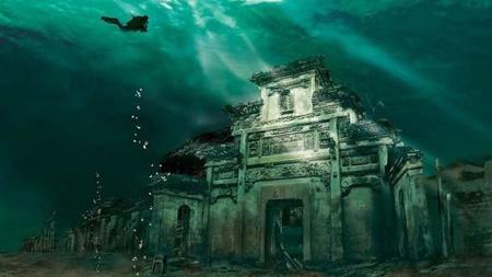 زیر دریا شهری است