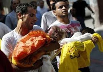 شمار شهدای حملات رژیم صهیونیستی به غزه به ۹۵۳نفر رسید