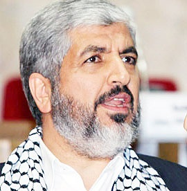 خالد مشعل: آتشبس دائم فقط با پایان حصر غزه قابلقبول است