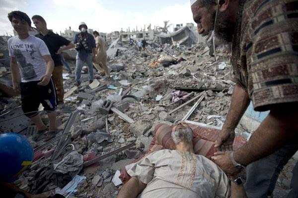 عکسهای تکاندهنده رویترز از جنایات صهیونیستها