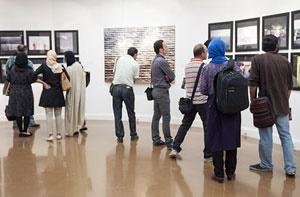 قابهای فاجعه غزه بر دیوارهای گالریهای تهران