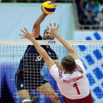 هفته هفتم لیگ جهانی ولیبال ؛لهستان ۳- ایران ۱