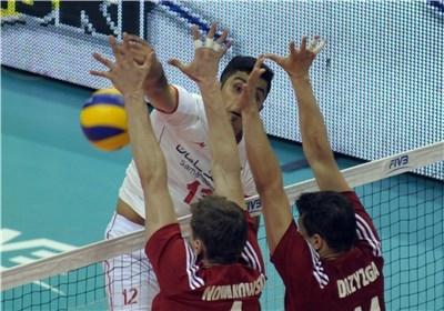 شکست دوباره ایران برابر لهستان