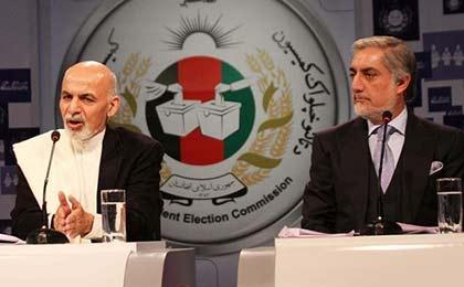بن بست در مذاکرات نمایندگان عبدالله و غنی احمدزی