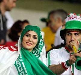 زنان ایران جام جهانی