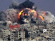 بین الملل: توقف حملات هوایی و دریایی صهیونیستها به غزه؛ فقط ۴ ساعت