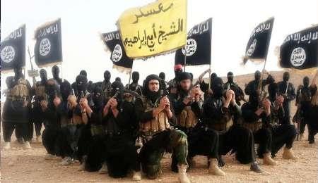 پرچم داعش نماد مرگ و هراس افکنی