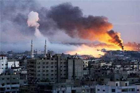 تخریب هدفدار ابنیه تاریخی غزه در بمبارانهای اسرائیل