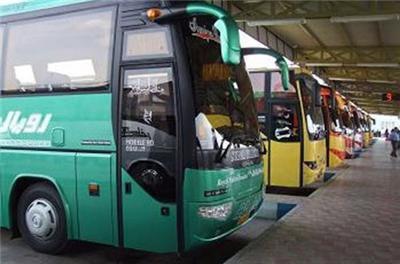 ۱۲۶ اتوبوس اسکانیا تعلیق شدند
