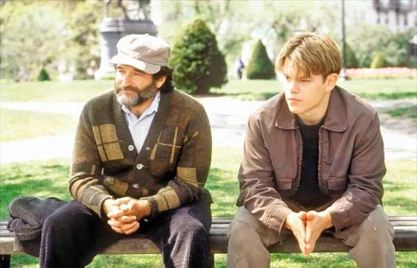 ویلیامز در «ویل هانتینگ خوب» همبازی متدیمن بود.