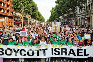 صهیونیستها زیر تیغ جنبش جهانی تحریم