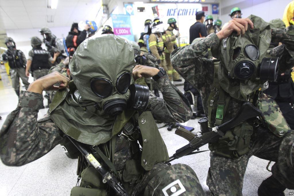 آغاز رزمایش سالانه کره جنوبی و آمریکا