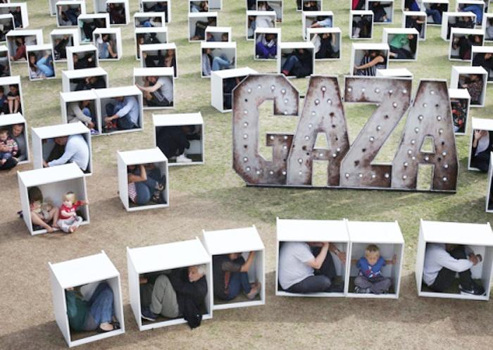حمایت مردم انگلیس از غزه