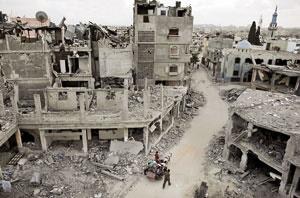 حمله به غزه در آتشبس یکروزه