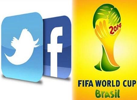 جام جهانی و شبکه اجتماعی