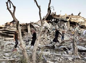 ۲۱ شهید در حملات تازه صهیونیستها به غزه