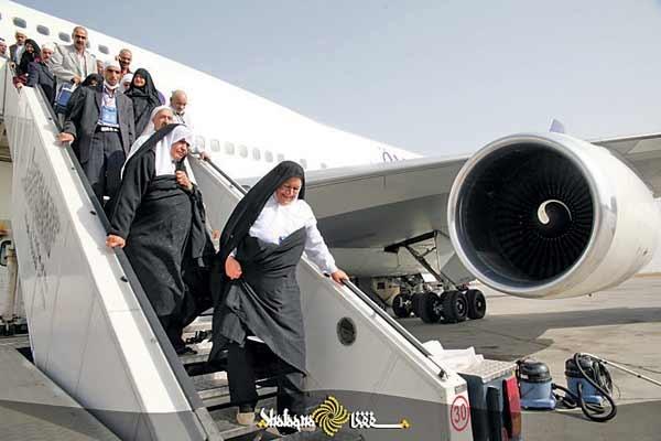 مسافران خانه خدا از کدام فرودگاه پرواز میکنند؟