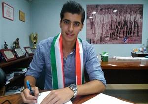 بازیکن جوان ملوان با آتلتیکو مادرید قرارداد بست