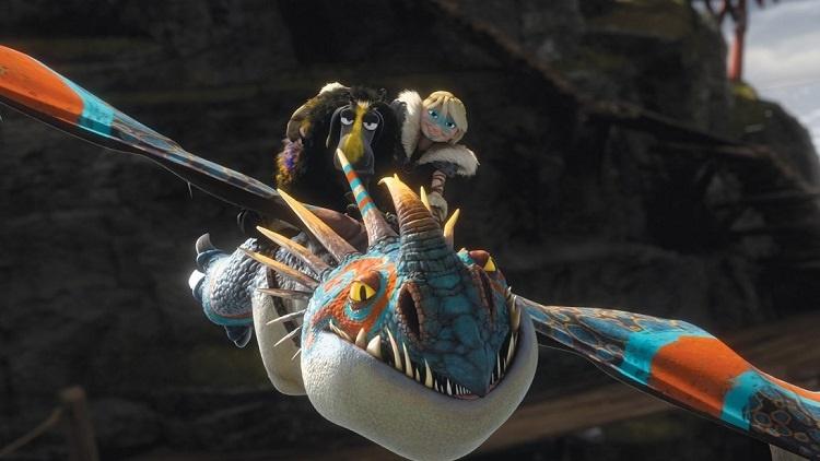 مجموعه تصاویر انیمیشن چگونه اژدهای خود را تربیت کنید ۲
