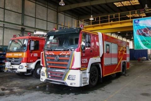 آشنایی با خودروهای جدید آتشنشانی