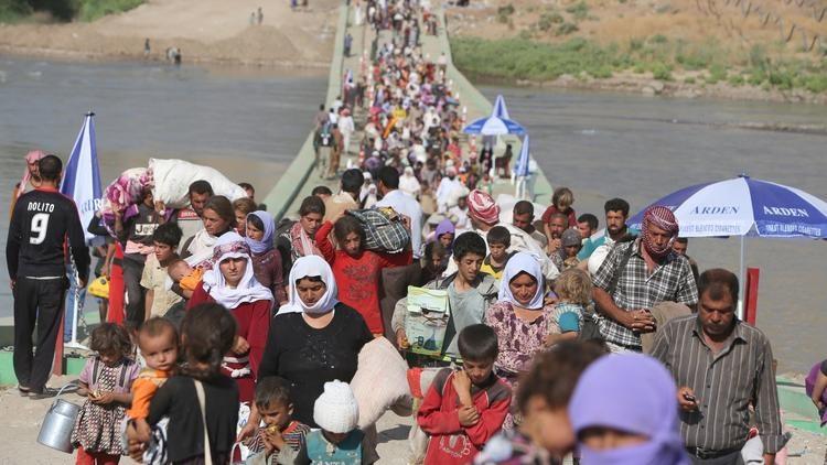 یک میلیون و۶۰۰هزار عراقی آواره شده اند