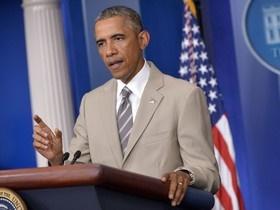 اوباما: نابود کردن سرطان داعش آسان نیست/ راهبردی نداریم