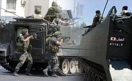 ادامه درگیری های شدید ارتش لبنان با عناصر تکفیری