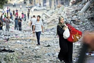 بازسازی غزه ۲۰ سال زمان میبرد