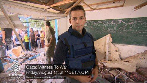 خشم فلسطینیها از خبرنگار حامی اسرائیل در شبکه الجزیره