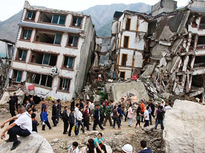 تلفات زمین لرزه چین، در مرز ۴۰۰ نفر