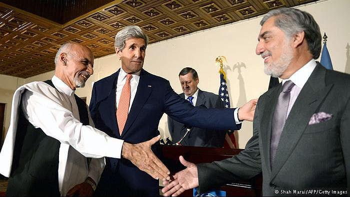 امضای توافقنامه تشکیل دولت وحدت ملی در افغانستان