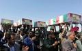 پیکر پنج شهید دوران دفاع مقدس در استان کرمان تشییع شد