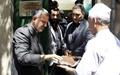 رئیس شورای شهر به دیدار اصناف با سابقه تهران رفت