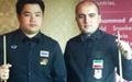 امیر سرخوش مدال طلای آسیا را بر گردن آویخت