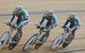 تیم دوچرخهسواری ایران در ماده تیم اسپرینت مسابقات آلمان چهارم شد
