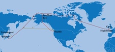 گرمایش جهانی، زمینهساز آغاز پروژه اینترنتی قطبی