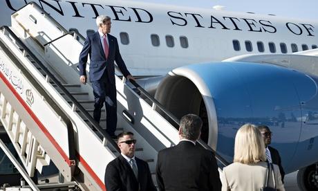 سفر وزیر خارجه آمریکا به بغداد